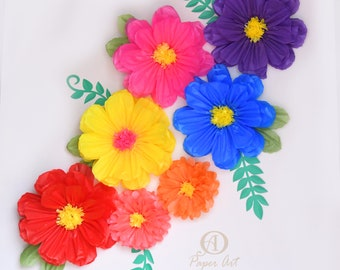 Mexican Paper Flowers Etsy