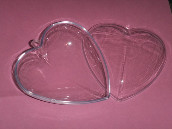 """16 Clear Plastic Ball fillable Ornament favor 3/"""" 80mm"""