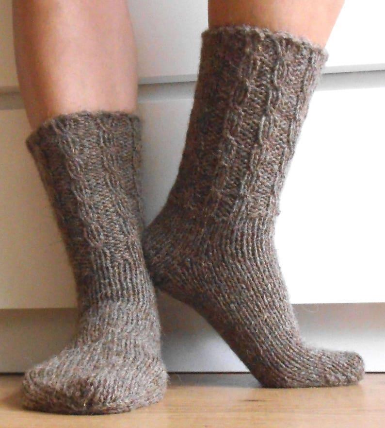 Mead warm men/'s merino wool boot socks in navyBy Pantherella