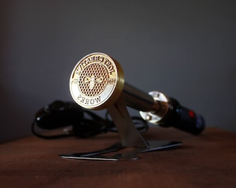 Set 200W custom logo Branding Iron- made of brass AC 110V or 220V /200W with power regulation  - DHL worldwide 1-5 days