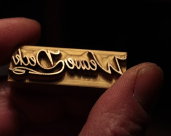 Branding iron Iron  with your signature or any logo. Stamp thickness: 16mm!!!