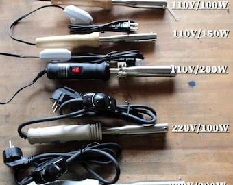 Only eletric heating for branding iron 110V or 220V with power regulator