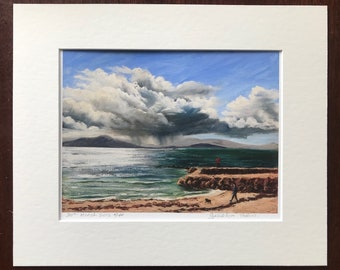 A Year on the Prom Limited Edition Print - '30 march 2016' - Fine Art Giclée Print - Galway Artist - A Year on the Prom