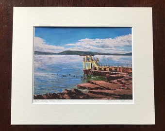 A Year on the Prom Limited Edition Print - '14 July 2016'- Fine Art Giclée Print - Galway Artist - A Year on the Prom