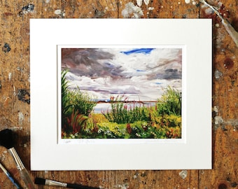 A Year on the Prom Limited Edition Print - '29 July, 2016' - Fine Art Giclée Print - Galway Artist - A Year on the Prom