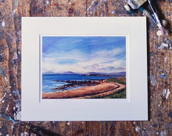 A Year on the Prom Limited Edition Print - 'September 27, 2015' - Fine Art Giclée Print - Galway Artist - Sunrise on a September Morning