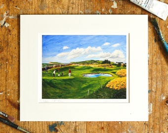 A Year on the Prom Limited Edition Print - '6 May, 2016' - Fine Art Giclée Print - Galway Artist - Vibrant Gorse