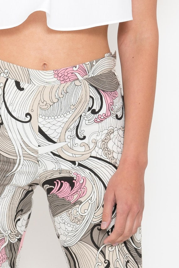 1970s Paisley Print Bell Bottoms – Vintage 70s Pi… - image 7