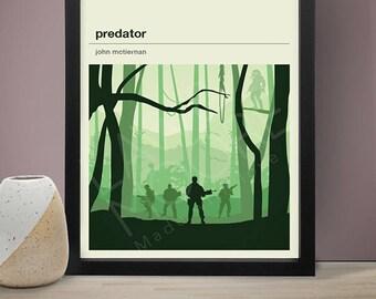 Predator Movie Poster, Movie Poster, Movie Print, Film Poster, Film Poster