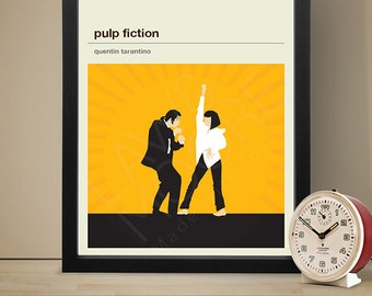 Pulp Fiction Movie Poster - Movie Poster, Movie Print, Film Poster, Film Poster