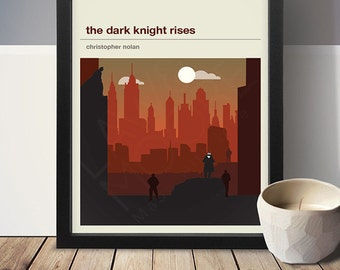 The Dark Knight Rises Movie Poster - Movie Poster, Movie Print, Film Poster, Film Poster