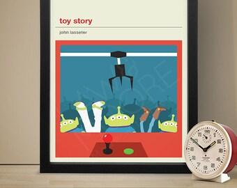 Toy Story Movie Poster - Movie Poster, Movie Print, Film Poster, Film Poster