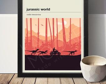 Jurassic World Movie Poster - Movie Poster, Movie Print, Film Poster, Film Poster