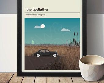 The Godfather Movie Poster - Movie Poster, Movie Print, Film Poster, Film Poster