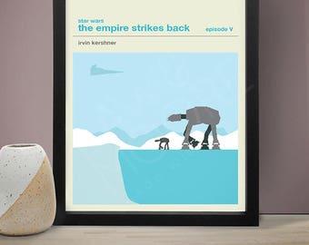 Star Wars Episode V The Empire Strikes Back Movie Poster, Movie Print, Film Poster