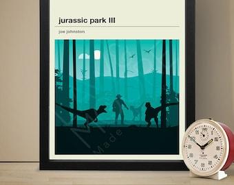 Jurassic Park III Movie Poster - Movie Poster, Movie Print, Film Poster, Film Poster