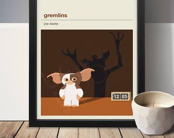 Gremlins Movie Poster - Movie Poster, Movie Print, Film Poster, Film Poster