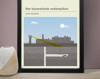 The Shawshank Redemption Movie Poster - Movie Poster, Movie Print, Film Poster, Film Poster