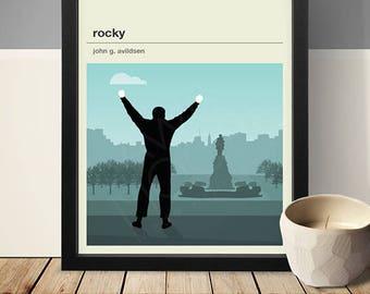 Rocky Movie Poster - Movie Poster, Movie Print, Film Poster, Film Poster