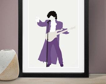 Prince Poster, Music Poster, People, Art Print