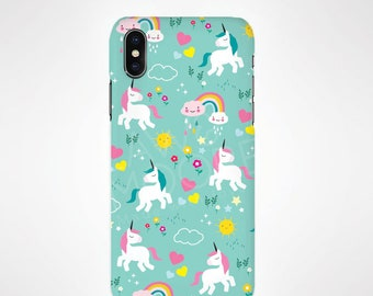 Unicorn Phone Case for iPhone and Samsung, iPhone X, 8, 7, 6, 6s, Plus, 5s, 5c, Samsung, S8