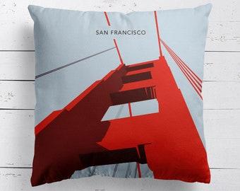 San Francisco Golden Gate Bridge Cushion