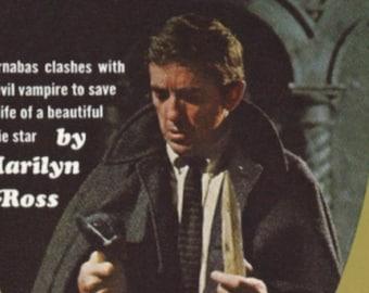 Paperback, Dark Shadows # 8, Marilyn Ross, Barnabas Collins, Jonathan Frid, Victoria Winters, Vampire, TV Show, Soap Opera, 1969