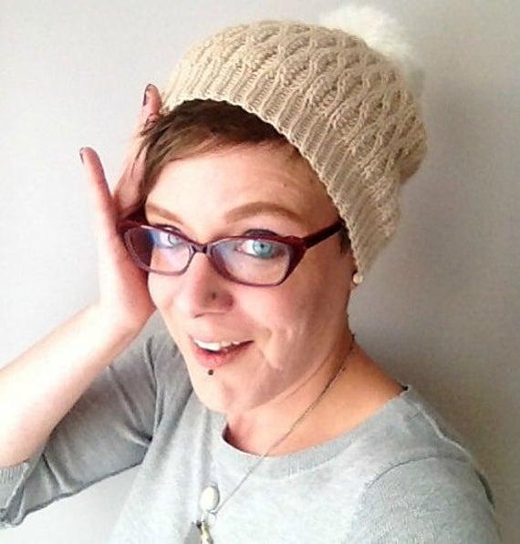 Ski Bunny Crochet Hat Pattern Winter Bobble Hat Crochet Etsy