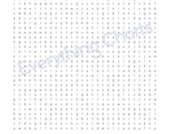 valentine word search pdf filesprintables