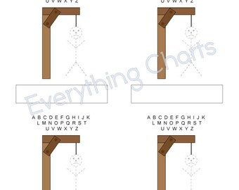 image about Hangman Printable known as Paper Online games PACK PDF Data files/Printables Etsy