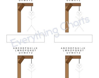 Hangman Game - PDF Files/Printables