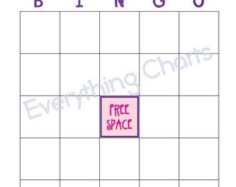 Valentine Bingo Game - PDF Files/Printables