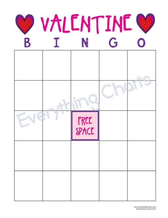 image relating to Valentine Bingo Printable named Valentine Bingo Video game - PDF Documents/Printables