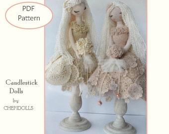 Crochet Doll Pattern, Doll Pattern.