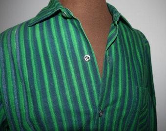 Marimekko - Jokapoika - Finland - Shirt -  Print - Design - Green - Strips