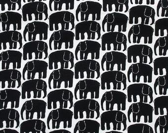 Elephant print fabric / Kids fabric / Scandinavian fabric / Swedish fabric / Curtain fabric / Cotton fabric / Home decor fabric