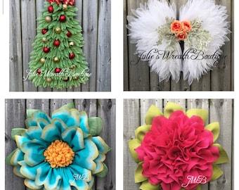 Video Tutorials, Apple Blossom Tutorial, Marigold Tutorial, Christmas Tree Tutorial, Angel Wreath Tutorial, Wreath Video Tutorials
