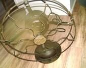 Antique Star Rite metal blade industrial fan
