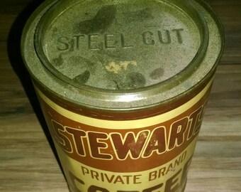 Antique coffee tin | Etsy