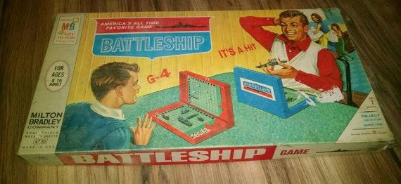 Vintage Original Battleship Game In Original Box 4730 Etsy