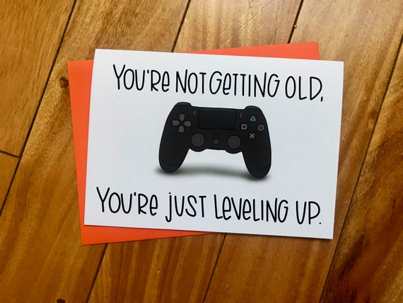 Youre Not Old Just Leveling Up By Stonedonut
