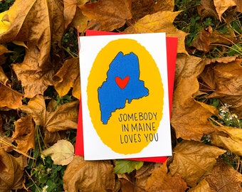 Somebody Loves You Card by stonedonut design