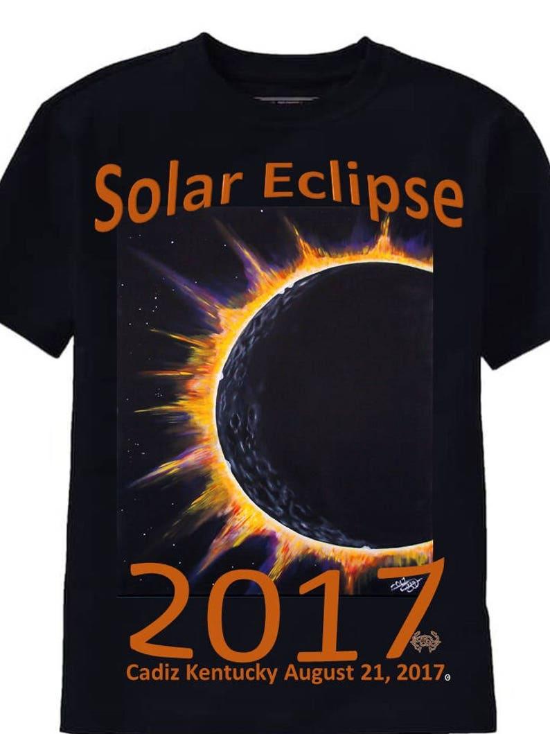 1dbd6b1c 36x48 Canvas Painting Solar Eclipse 2017 Eclipse Star | Etsy