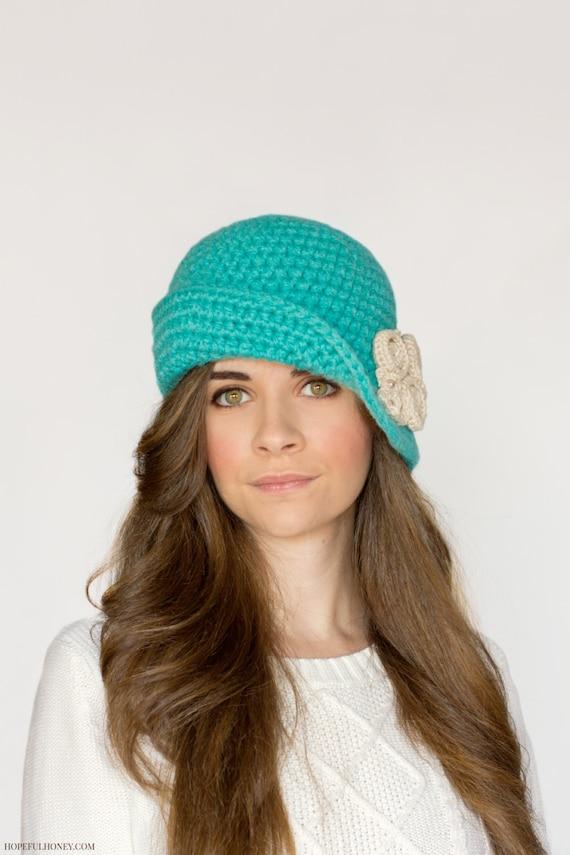 Crochet Pattern Charleston Cloche Hat 1920s Flapper