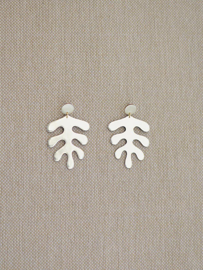 Matisse-inspired earrings image 0
