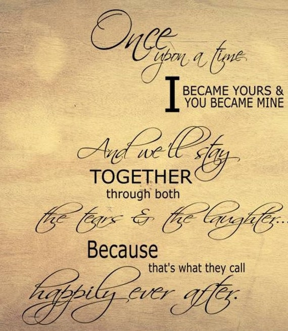 Once Upon A Time I Became Yours You Became Mine Svg Png Etsy