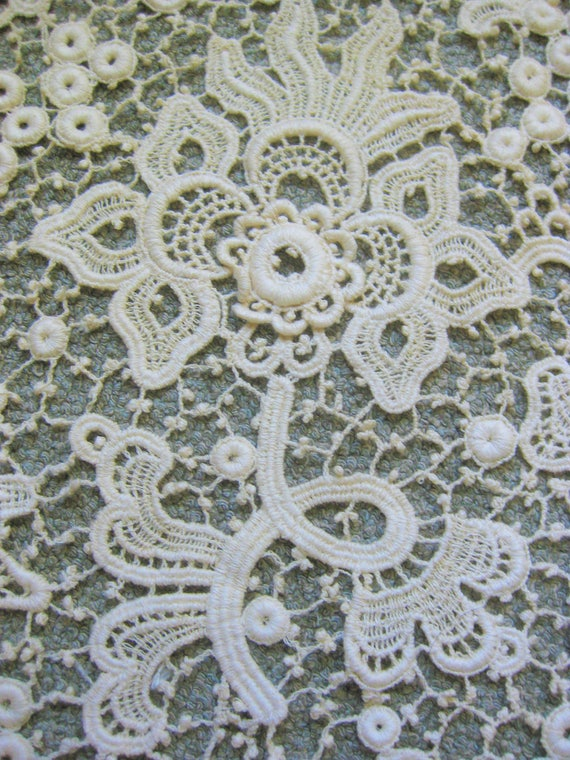 Victorian Wide Lace Collar, Vintage - image 6