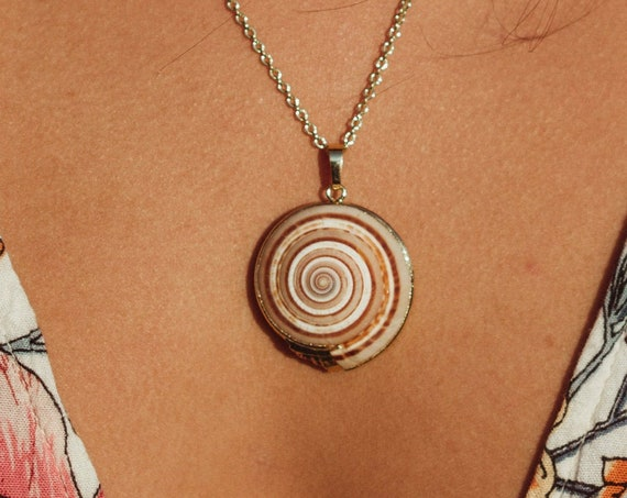 Sundial Shell Necklace