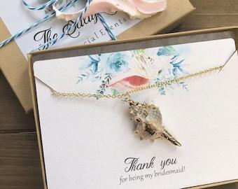 Bridesmaid Thank You Gift Necklace