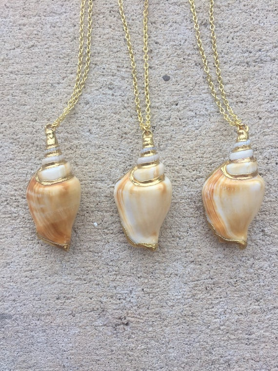 Large Conch Shell Necklace